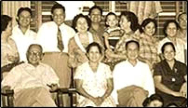 A family picture of Maximo Gimenez - the owner of Max's Restaurant