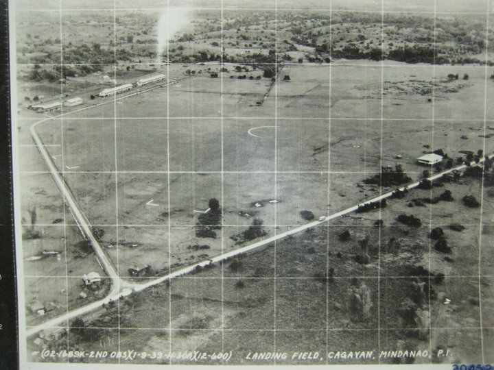 A picture of the Parade Field taken on January 9, 1939