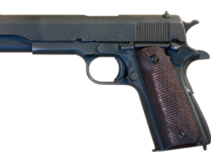 Designed by John Browning, the M1911 is the best-known of his designs to use the short recoil principle in its basic design.